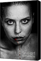 Vampires Canvas Prints - Still waiting for a twilight Canvas Print by Eugene Volkov