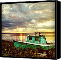 Relaxing Canvas Prints - Stillwaters Retires Canvas Print by Luke Kingma
