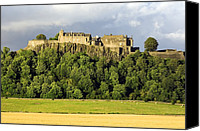 Mays Canvas Prints - Stirling Castle, Scotland, Uk Canvas Print by Duncan Shaw