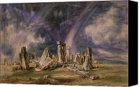 1776 Canvas Prints - Stonehenge Canvas Print by John Constable