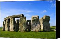 Number 7 Canvas Prints - Stonehenge No 1 Canvas Print by Kamil Swiatek
