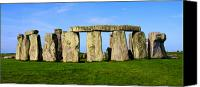 Number 7 Canvas Prints - Stonehenge No 2 Canvas Print by Kamil Swiatek