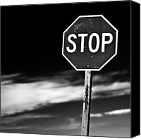 Featured Photo Canvas Prints - Stop Canvas Print by James Bull