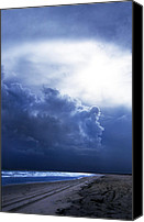 Angel Pictures Canvas Prints - Storm Angel Canvas Print by Skip Willits