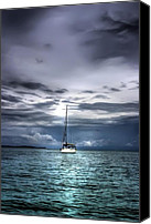 Stormy Canvas Prints - Storm Approaching Canvas Print by Dolly Sanchez