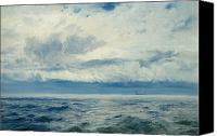 Calming The Storm Canvas Prints - Storm Brewing Canvas Print by Henry Moore