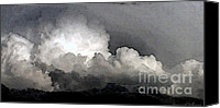 Sky Canvas Prints - Storm Clouds Are Brewin Canvas Print by Methune Hively