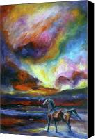 Williams Painting Canvas Prints - Storm Canvas Print by Diane Williams