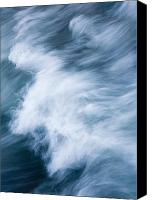 Beaches Canvas Prints - Storm Driven Canvas Print by Mike  Dawson