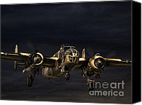 Storm Prints Canvas Prints - Storm Warning Canvas Print by Peter Chapman
