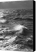 Stormy Canvas Prints - Storm Waves, South Ocean, Drakes Canvas Print by Ralph Lee Hopkins
