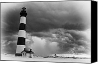 Tropical Storm Canvas Prints - Stormy Bodie in Black and White Canvas Print by Dan Carmichael