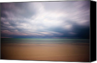 Water Canvas Prints - Stormy Calm Canvas Print by Adam Romanowicz