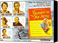Fid Canvas Prints - Stranger In My Arms, June Allyson, Jeff Canvas Print by Everett