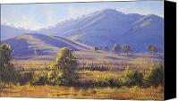 Graham Gercken Canvas Prints - Strath Creek Victoria Canvas Print by Graham Gercken
