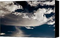 Clayton Canvas Prints - Streakin Cloud Canvas Print by Clayton Bruster