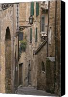 Assisi Canvas Prints - Streets of Assisi Canvas Print by Lynn Andrews