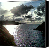 Relaxing Canvas Prints - Strumblhead Wales #wales #pembrokeshire Canvas Print by Rachel Williams