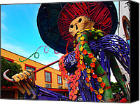 Tlaquepaque Canvas Prints - Strut Canvas Print by Skip Hunt