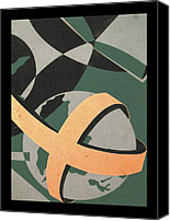 Ecumenical Canvas Prints - Study - Ecumenical Magazine 1965 Canvas Print by Glenn Bautista