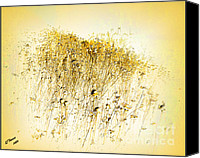 Arne J Hansen Canvas Prints - Study in Yellow Canvas Print by Arne Hansen