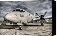 Jet Canvas Prints - Submarine Hunter Canvas Print by Ryan Wyckoff