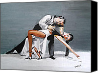 Tango Canvas Prints - Submission Canvas Print by Judy Kay
