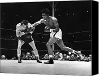 Robinson Canvas Prints - Sugar Ray Robinson Canvas Print by Granger