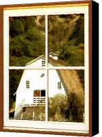 Barn Windows Canvas Prints - Suitably Farmed Canvas Print by Cristopher