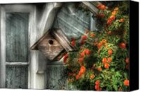 Gardener Canvas Prints - Summer - Birdhouse - The Birdhouse Canvas Print by Mike Savad