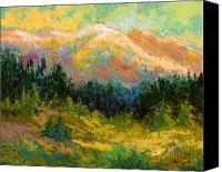 Alaska Canvas Prints - Summer High Country Canvas Print by Marion Rose
