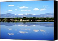 Loveland Canvas Prints - Summer in Loveland Canvas Print by Merja Waters