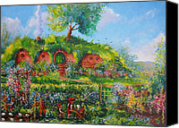 Moria Canvas Prints - Summer In The Shire Canvas Print by Joe  Gilronan