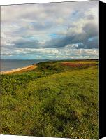 Uk Canvas Prints - Summer Walking Canvas Print by James Smith