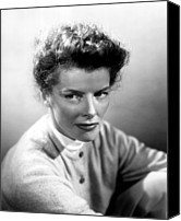 1955 Movies Canvas Prints - Summertime, Katharine Hepburn, 1955 Canvas Print by Everett