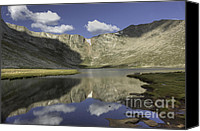 Alpine Canvas Prints - Summit Lake - 2 Canvas Print by David Bearden