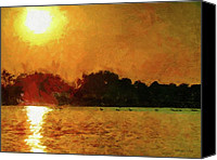 Heat Canvas Prints - Sun Burned Canvas Print by Jeff Kolker
