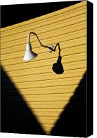 Yellow Canvas Prints - Sun Lamp Canvas Print by David Bowman