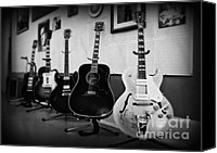 Johnny Cash Canvas Prints - Sun Studio Classics 2 Canvas Print by Perry Webster