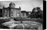 Dial Photo Canvas Prints - sundial at the Armagh Observatory founded in 1790 by Archbishop Richard Robinson  Canvas Print by Joe Fox