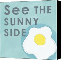 Linda Canvas Prints - Sunny Side Canvas Print by Linda Woods
