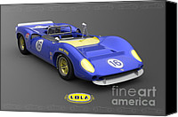 Roger Canvas Prints - Sunoco Special Canvas Print by Pete Chadwell