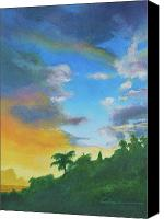 Diane Cutter Canvas Prints - Sunrise Canvas Print by Diane Cutter