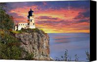 Marty Koch Canvas Prints - Sunrise Canvas Print by Marty Koch