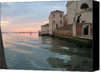 Clemente Canvas Prints - Sunrise on Isola Di San Clemente Venice Canvas Print by Harry Mason
