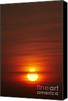 Daybreak Canvas Prints - Sunrise Canvas Print by Tony Cordoza