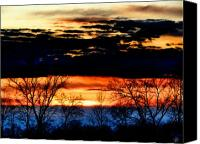 Sky Canvas Prints - Sunset 11 Canvas Print by Scott Hovind