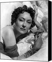 1950 Movies Photo Canvas Prints - Sunset Boulevard, Gloria Swanson, 1950 Canvas Print by Everett
