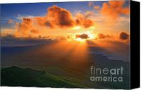 Azoren Canvas Prints - Sunset Canvas Print by Gaspar Avila