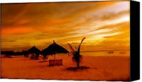 Lanscape Canvas Prints - Sunset in Zanzibar Canvas Print by Joe  Burns
